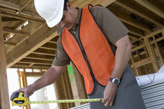Architect Working At Construction Site Royalty Free Stock Photo