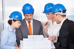 Architect Working Together Royalty Free Stock Image