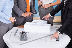 Architect Working Together Royalty Free Stock Photos