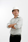 Architect young engineer portrait Stock Image