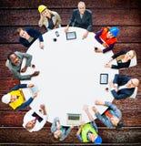 Architecte Business Engineering Corporate Team Concept Images stock