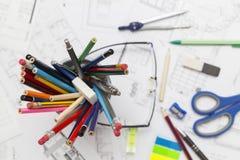 Architecte Desk Images stock