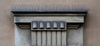 Architectonic decoration stock photos