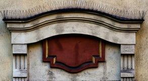 Architectonic decoration. royalty free stock photo