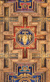 Architectonic detail. Of church Santa Maria Aracoeli in Rome Royalty Free Stock Images