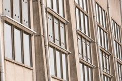 Architectonic detail of the Radio Kootwijk building Royalty Free Stock Photo