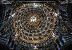 Architectonic detail in Siena Royalty Free Stock Photography