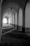 Architectonic gallery Royalty Free Stock Photo
