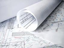 architectral σχέδιο Στοκ φωτογραφία με δικαίωμα ελεύθερης χρήσης