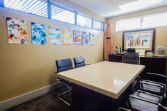 Architects Clients Meeting Room Desk Royalty Free Stock Image