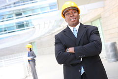 Architects on Construction Site Royalty Free Stock Photo