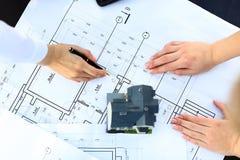Architects model house Stock Image