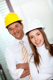 Architects at the office Stock Image