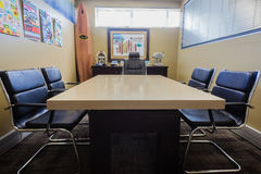 Architects Offices Client Meeting Desk Royalty Free Stock Photos