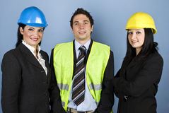 Architects teamwork Stock Photography