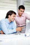 Architects At Work Stock Image