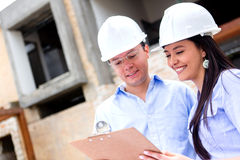Architects working Stock Image