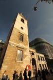 Architectual αντιθέσεις του Λονδίνου Στοκ φωτογραφία με δικαίωμα ελεύθερης χρήσης