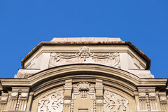 Architectual detail in Timisoara Romania. Building architectural detail of an old Timisoasa house in the western part of Romania Stock Photography