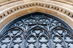 Architectual detail of York Minster in city of York Stock Photography