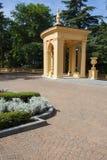 Architectual and gardening ensemble Royalty Free Stock Photo