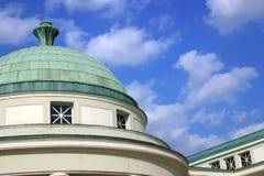 architectual koppardetaljkupol royaltyfria foton