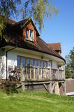 Architectually projetou a casa inglesa Foto de Stock