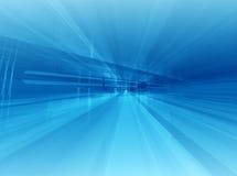 Architecturaal blauw stock illustratie