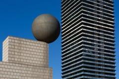 Architecturaal detail in Barcelona Royalty-vrije Stock Afbeeldingen