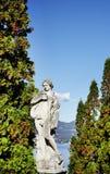 Architecturaal detail in de stad van Stresa, op de kust van Lago Maggiore Royalty-vrije Stock Foto