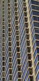 Architecturaal detail met vensters Royalty-vrije Stock Afbeeldingen