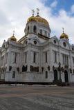 Architecturaal detail van de Kathedraal van Christus de Verlosser Stock Fotografie