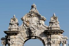 Architecturaal detail van de oude bouw Royalty-vrije Stock Afbeeldingen