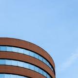 Architecturaal detail van een modern gebouw Stock Afbeelding