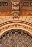 Architecturaal detail van het vormen stock afbeeldingen