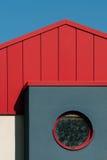 Architecturaal detailHuis Stock Afbeelding