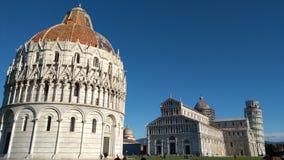 Architecturaal Ensemble van de Kathedraal van Pisa, Unesco-de Plaats van de Werelderfenis Royalty-vrije Stock Foto