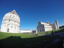 Architecturaal Ensemble van de Kathedraal van Pisa, Unesco-de Plaats van de Werelderfenis Stock Afbeeldingen