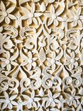 Architecturaal ornament stock foto