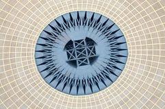 Architecturaal patroon Royalty-vrije Stock Afbeeldingen