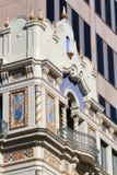 Architecturakl-Details in San Antonio Texas Stockbilder
