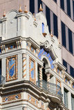 Architecturakl detaljer i San Antonio texas Arkivbilder