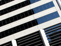 Architectural Abstract 1. Abstract view of office high-rise building, suitable for backgrounds and layers Stock Image