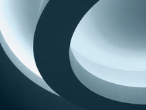 Architectural Abstract Curves. Architectural detail showing abstract curves Royalty Free Stock Images