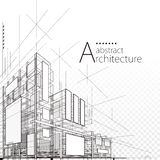 Architectural Abstract Design vector illustration