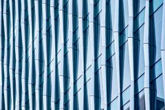 Architectural abstract, a modern office building stock photography