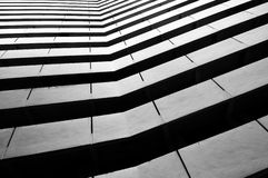 Architectural abstract monochrome Stock Photography
