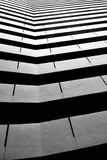 Architectural abstract monochrome Royalty Free Stock Image