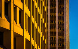 Architectural abstract taken in downtown Wilmington, Delaware. Stock Photography