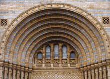 Architectural arch. Detail of museum architecture - arches and windows Stock Photos